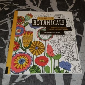 Other - Botanicals coloring book